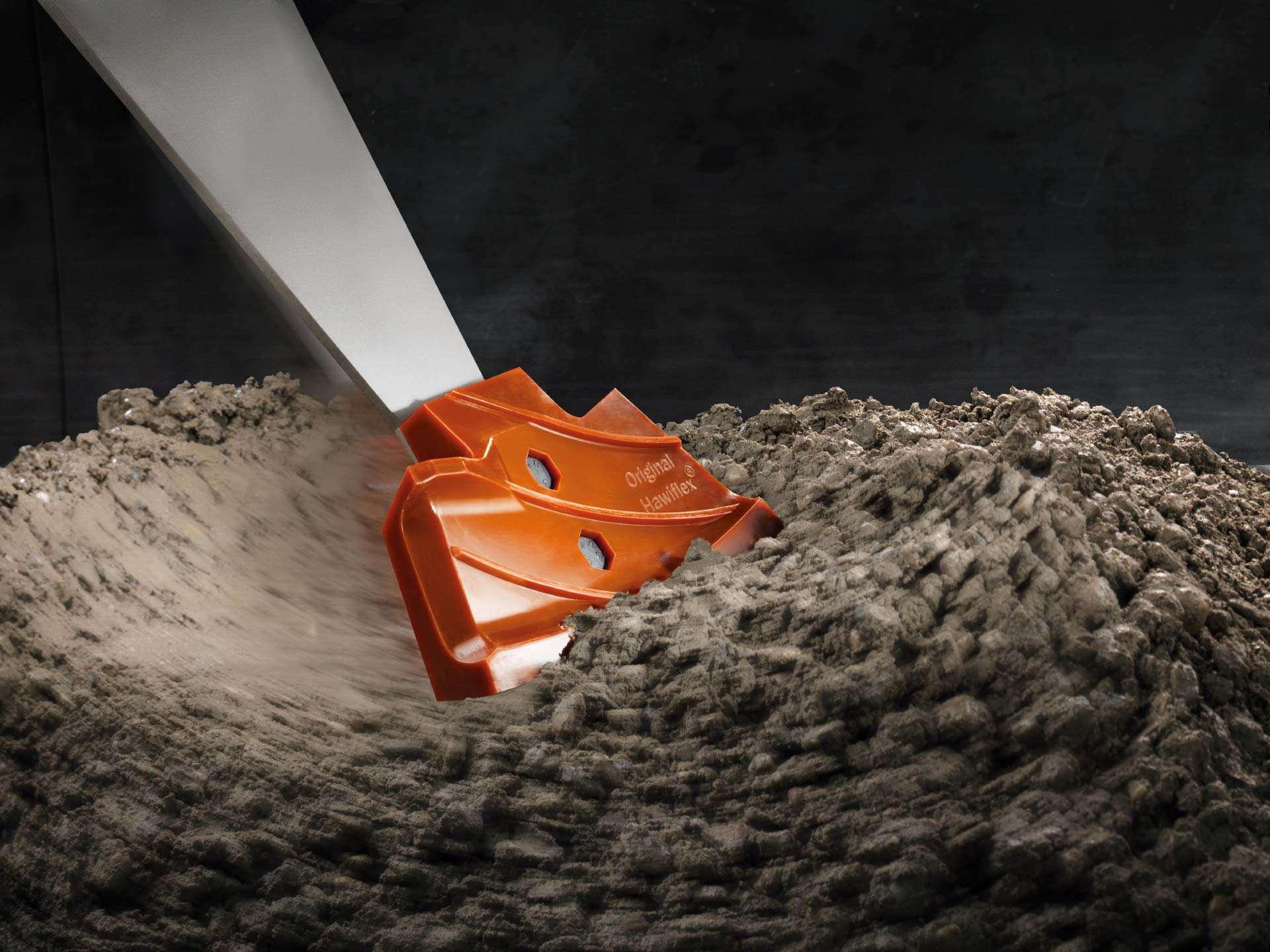 Mischwerkzeug aus Hawiflex® / Mixing tools Hawiflex ®