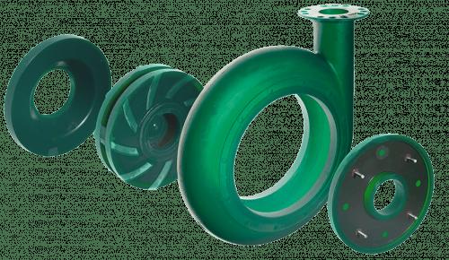 Pumpe grün