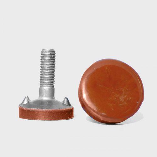 Tellerschraube mit Hawiflex® Beschichtung / Tellerschraube mit Hawiflex® Beschichtung / Plate bolts with 5 mm Hawiflex® coating
