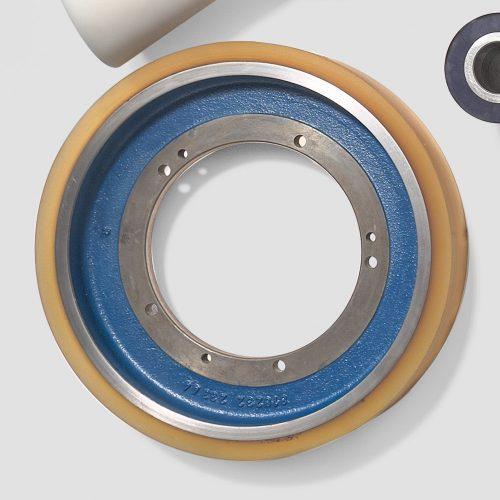 Räder und Walzenbezug / Wheel and roller coatings