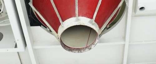 Coneflex®-Trichter mit Zweifarbsystem / Coneflex® hopper insert, early detection system