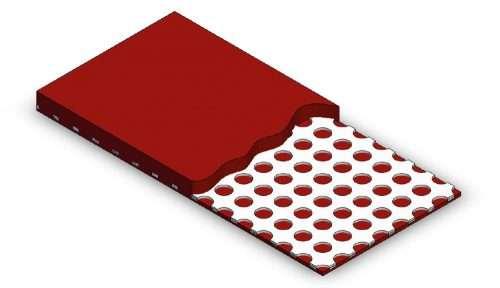 Hawiflex®-Lochblechplatten - Aluminium / Hawiflex®-perforated metal sheets - Aluminium