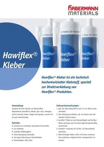 Referenzblatt Hawiflex Kleber